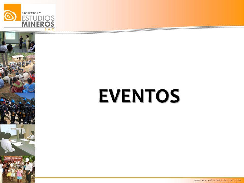EVENTOS www.estudiosmineros.com