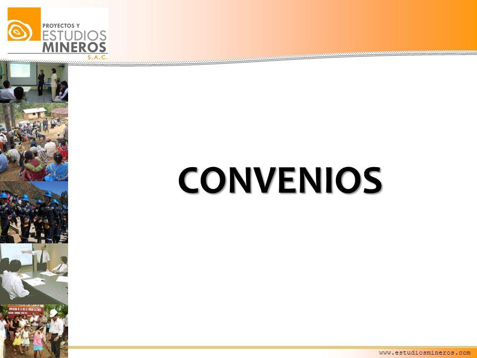 CONVENIOS www.estudiosmineros.com