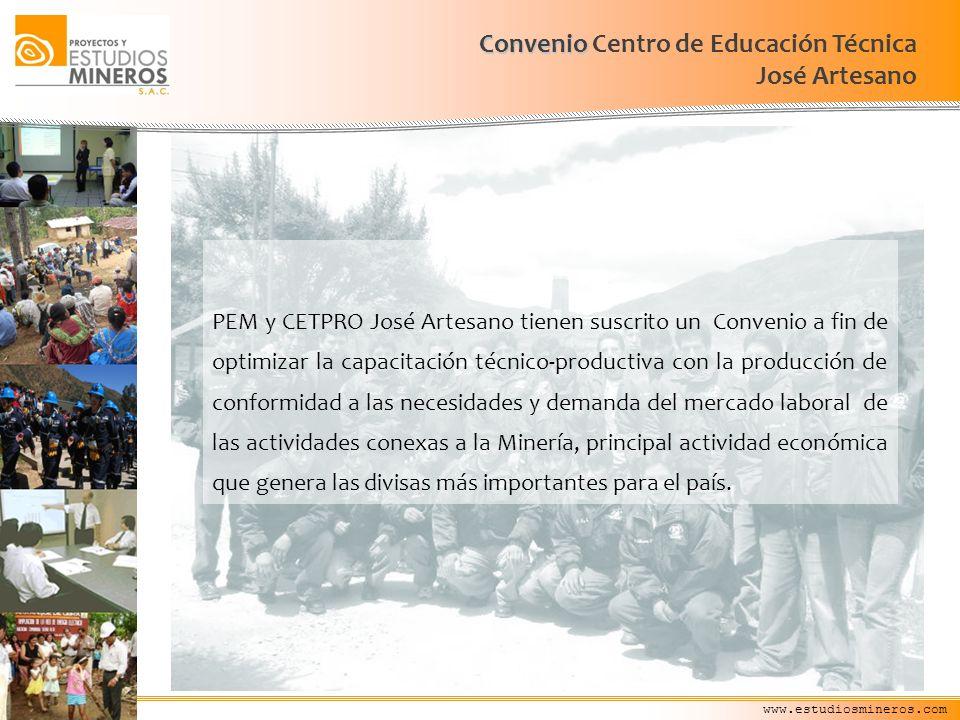 Convenio Centro de Educación Técnica José Artesano