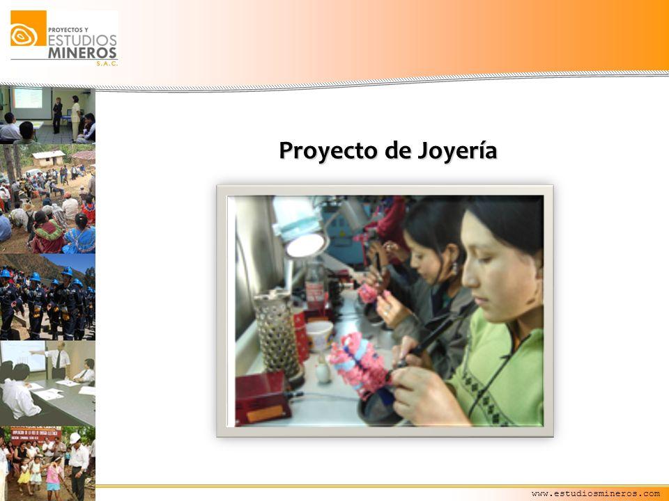 Proyecto de Joyería www.estudiosmineros.com