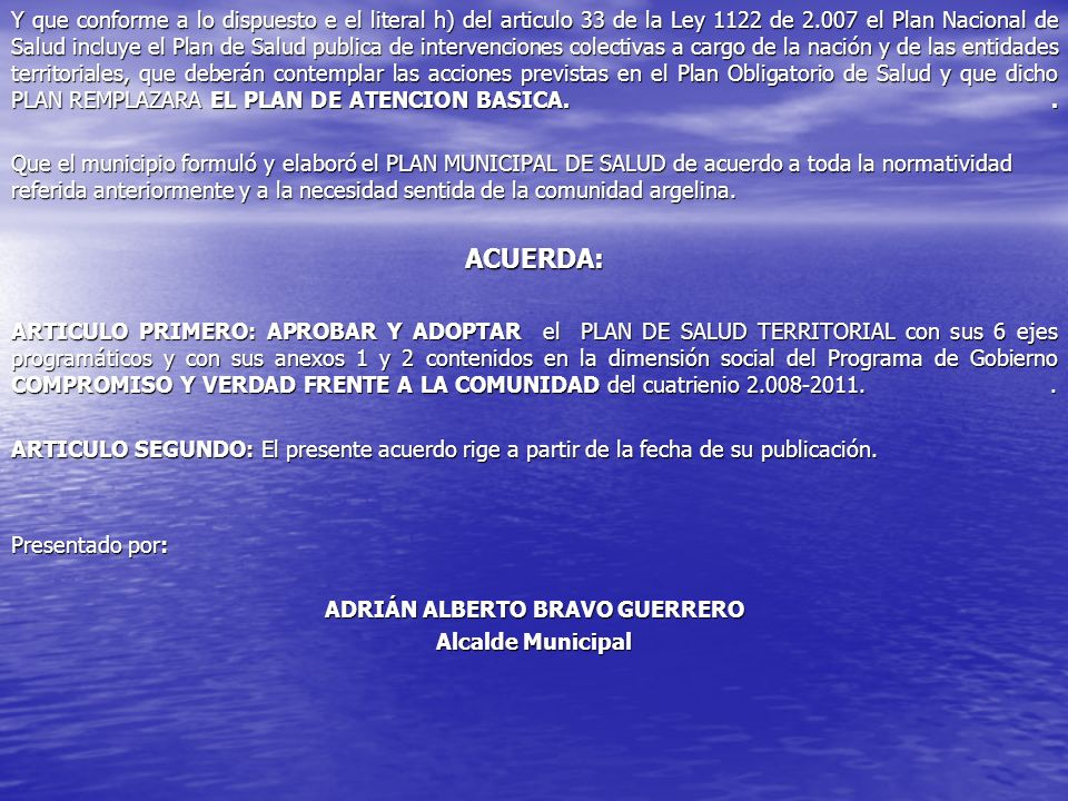 ADRIÁN ALBERTO BRAVO GUERRERO