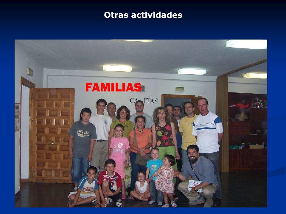 Otras actividades FAMILIAS