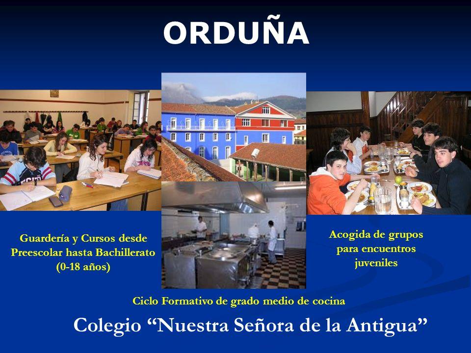 ORDUÑA Colegio Nuestra Señora de la Antigua