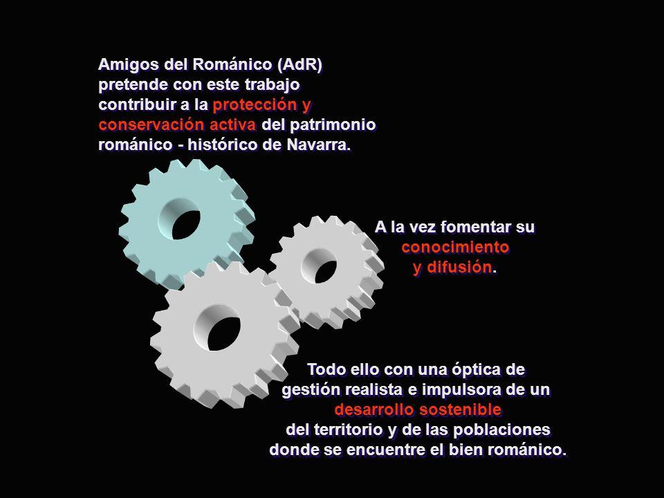 Amigos del Románico (AdR) pretende con este trabajo