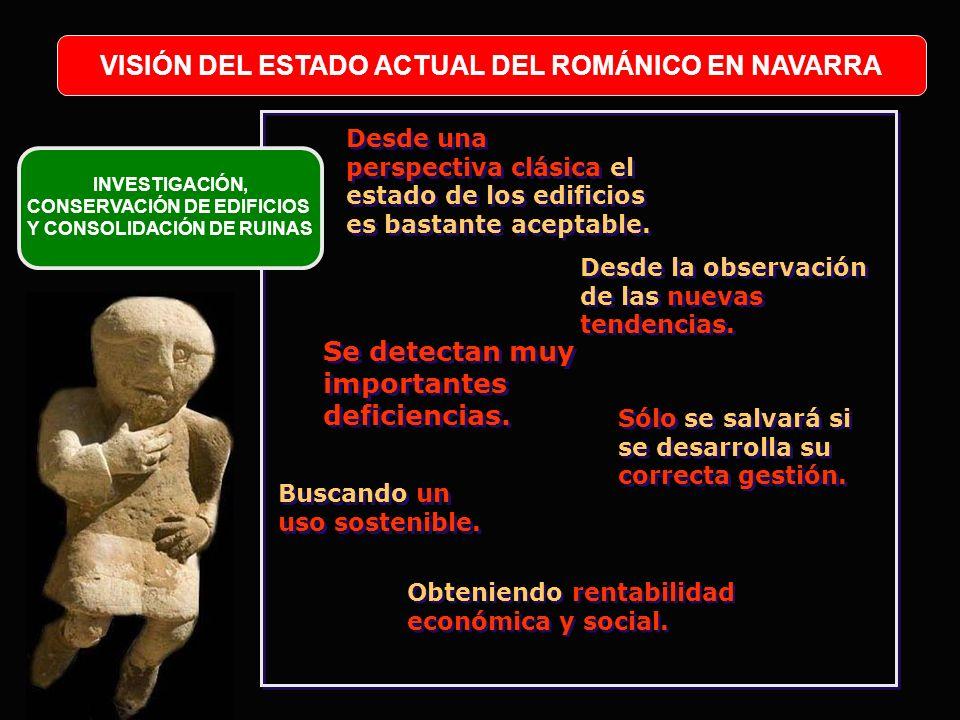 VISIÓN DEL ESTADO ACTUAL DEL ROMÁNICO EN NAVARRA