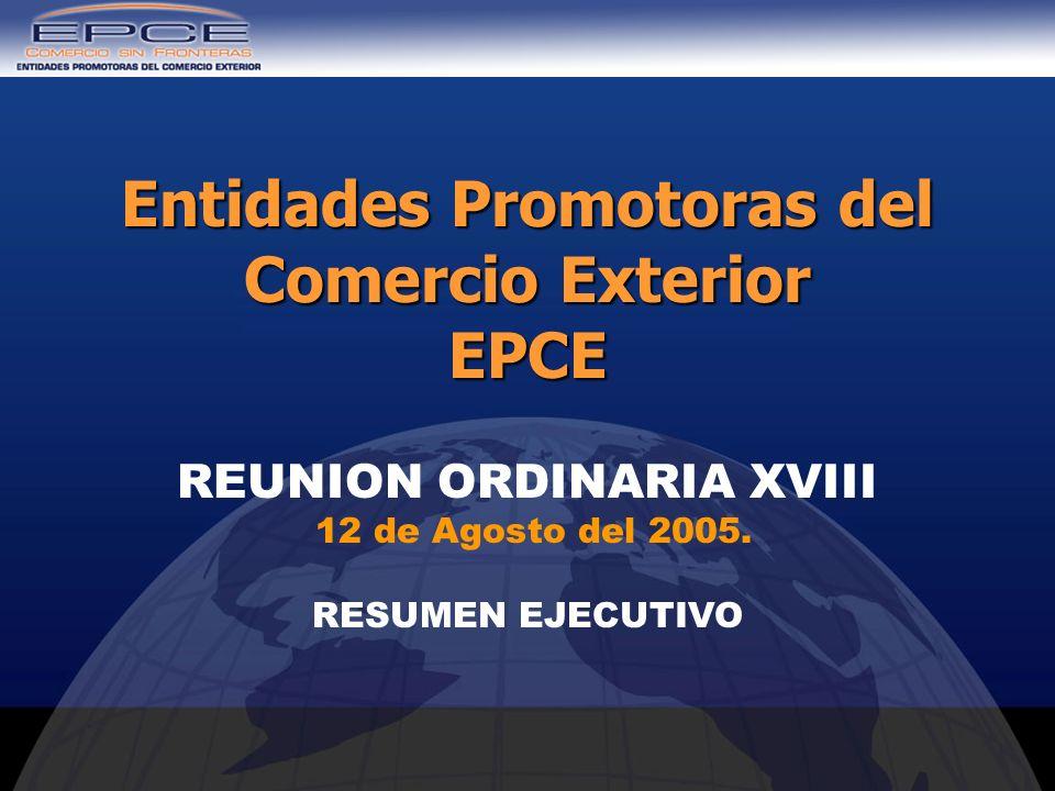 Entidades Promotoras del Comercio Exterior