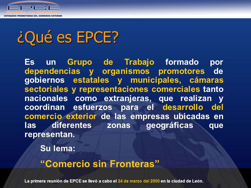 ¿Qué es EPCE