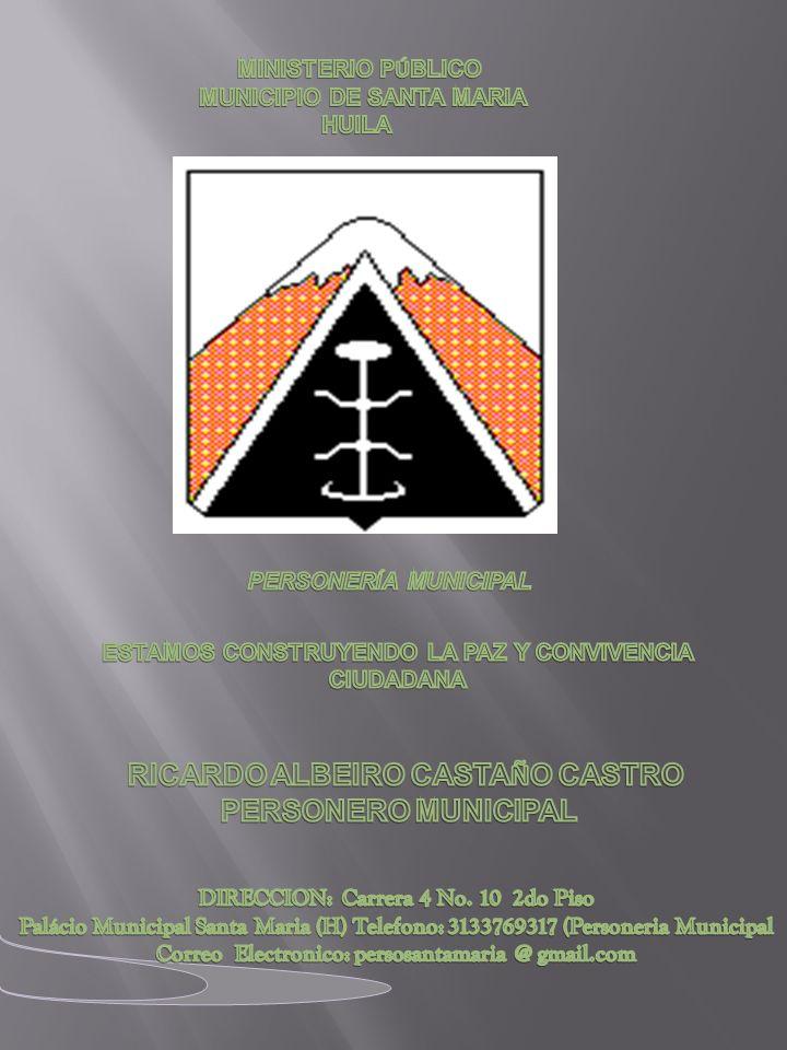 PERSONERÍA MUNICIPAL ) RICARDO ALBEIRO CASTAÑO CASTRO