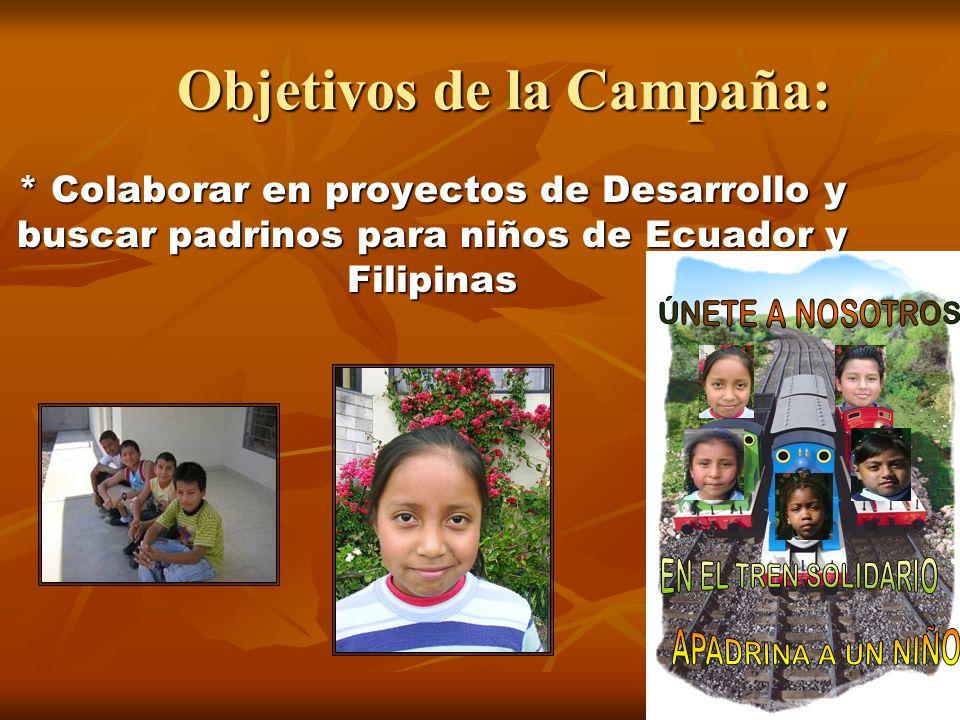 Objetivos de la Campaña: