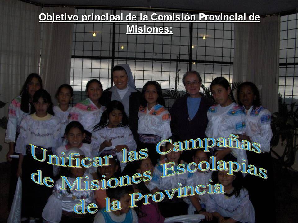 Objetivo principal de la Comisión Provincial de Misiones: