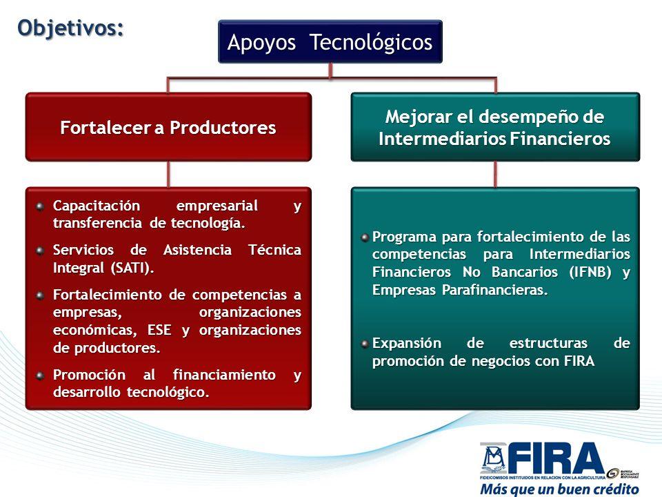 Objetivos: Apoyos Tecnológicos