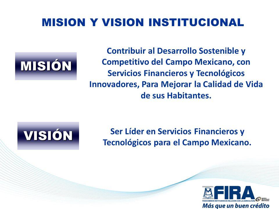 MISION Y VISION INSTITUCIONAL
