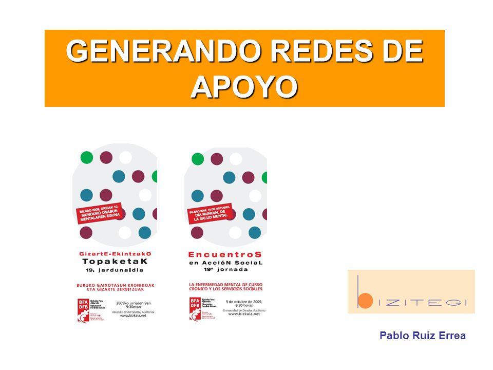 GENERANDO REDES DE APOYO