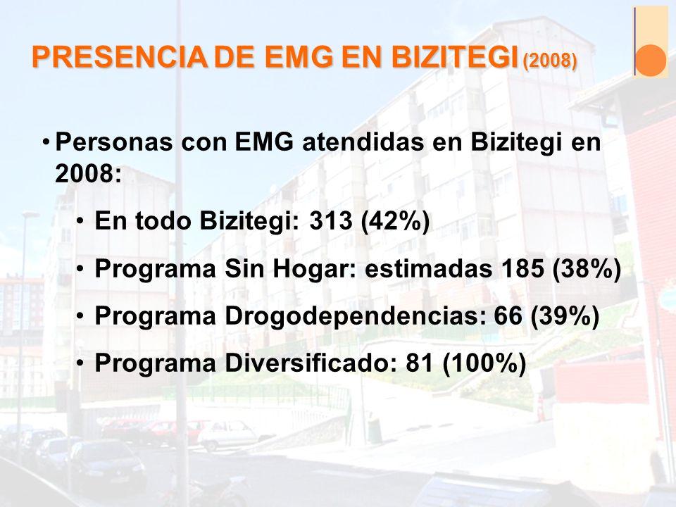 PRESENCIA DE EMG EN BIZITEGI (2008)