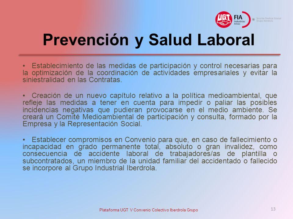 Prevención y Salud Laboral
