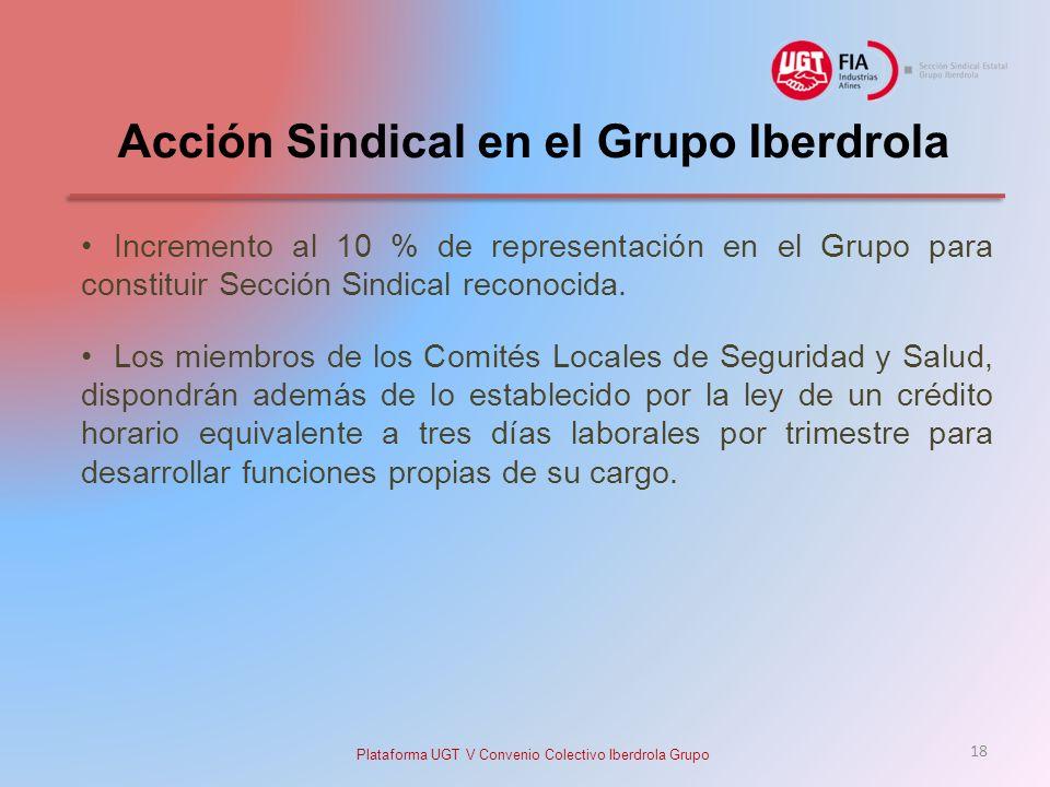 Acción Sindical en el Grupo Iberdrola