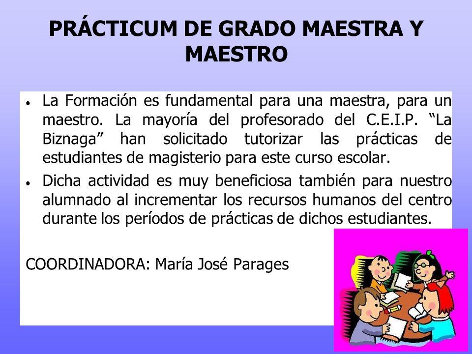 PRÁCTICUM DE GRADO MAESTRA Y MAESTRO