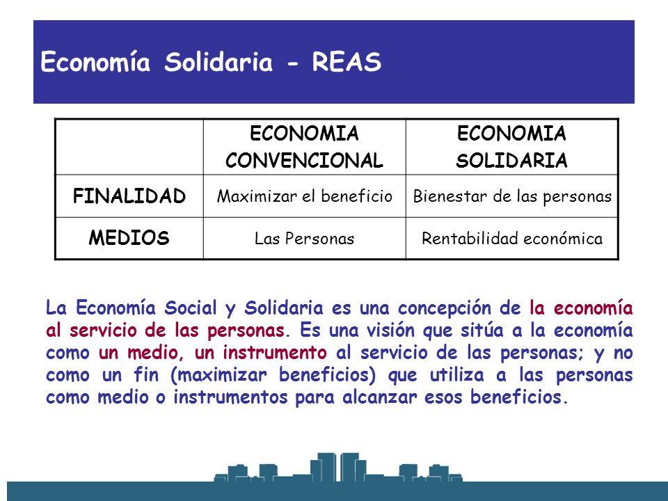 Economía Solidaria - REAS