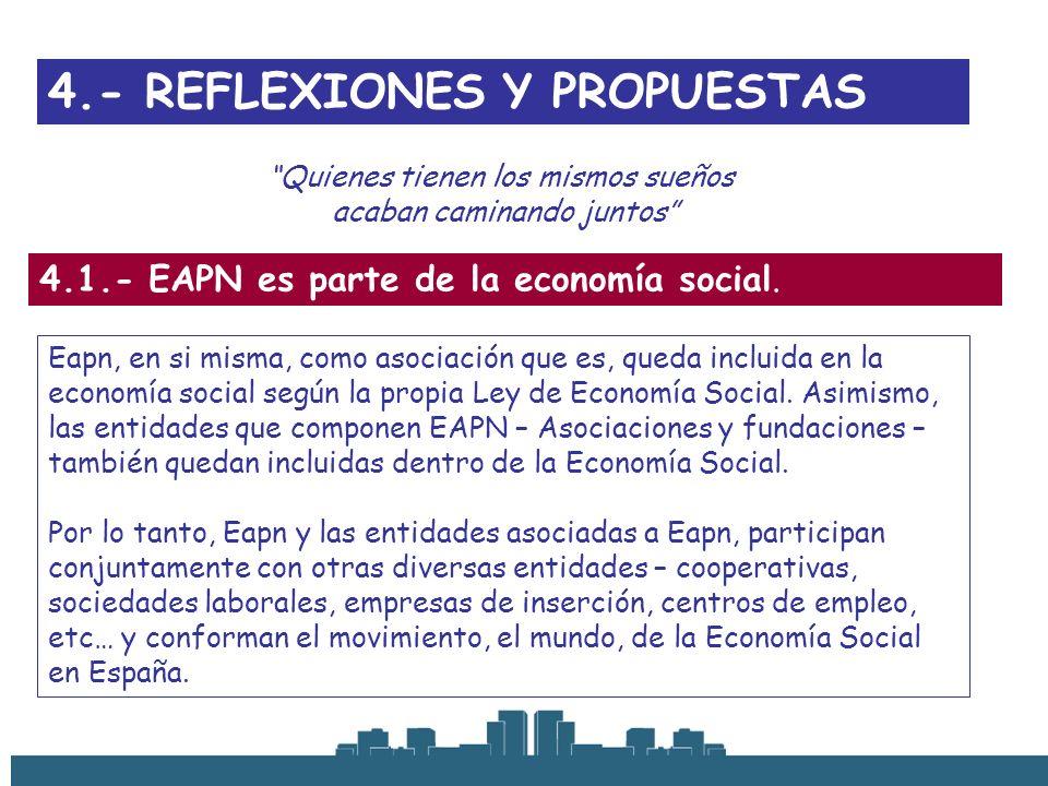 4.- REFLEXIONES Y PROPUESTAS
