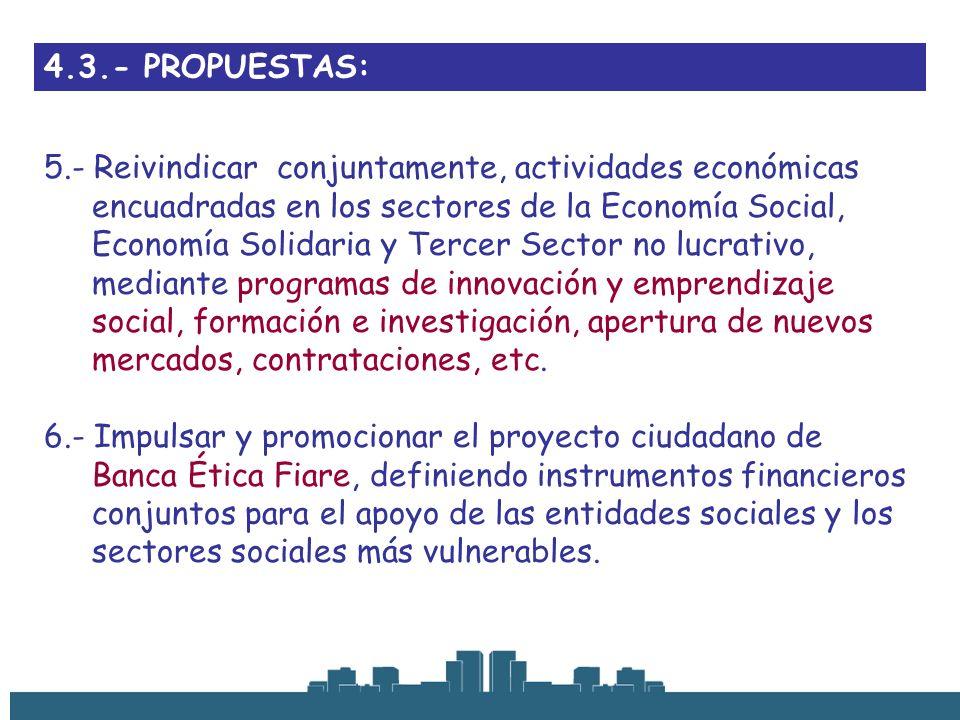 4.3.- PROPUESTAS: