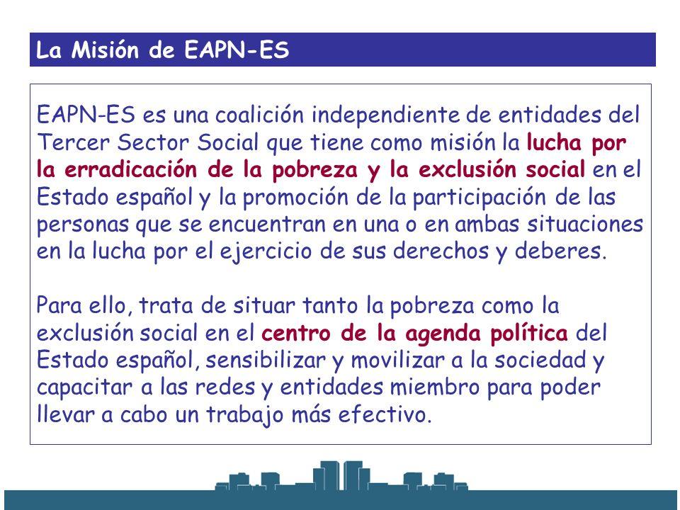 La Misión de EAPN-ES