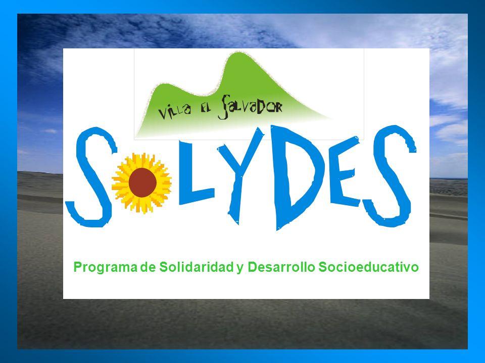 Programa de Solidaridad y Desarrollo Socioeducativo