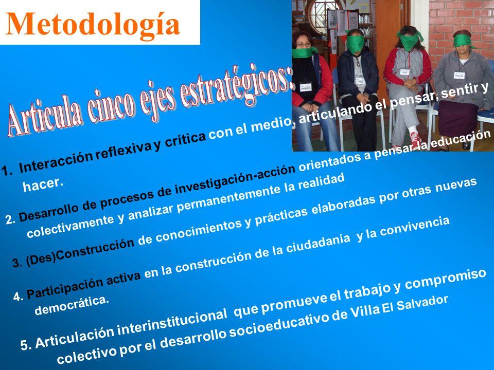 Articula cinco ejes estratégicos: