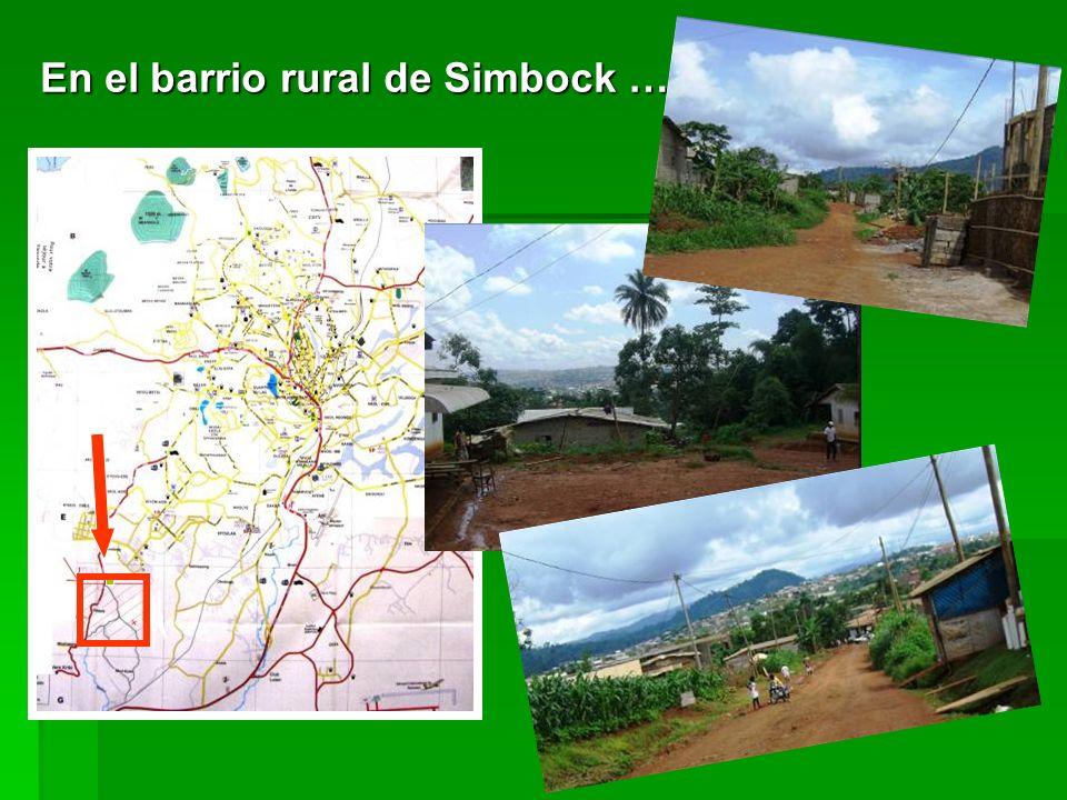 En el barrio rural de Simbock …