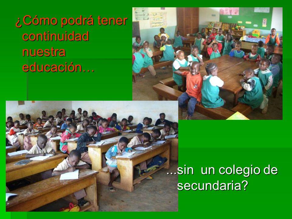 ¿Cómo podrá tener continuidad nuestra educación…