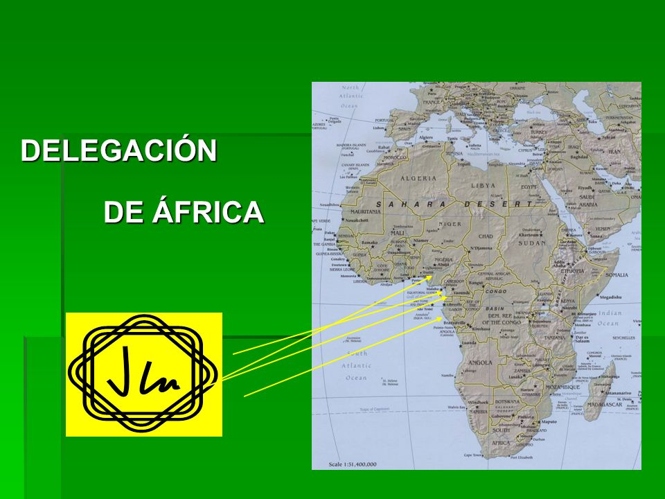 DELEGACIÓN DE ÁFRICA