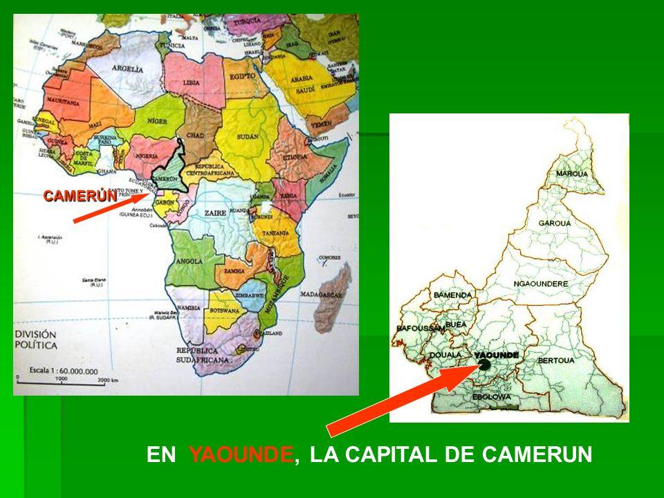 EN YAOUNDE, LA CAPITAL DE CAMERUN