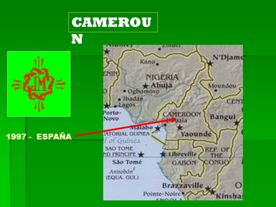 CAMEROUN 1997 - ESPAÑA