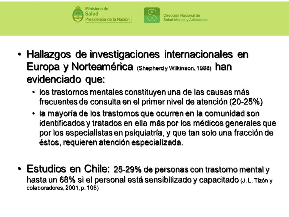 Hallazgos de investigaciones internacionales en Europa y Norteamérica (Shepherd y Wilkinson, 1988) han evidenciado que: