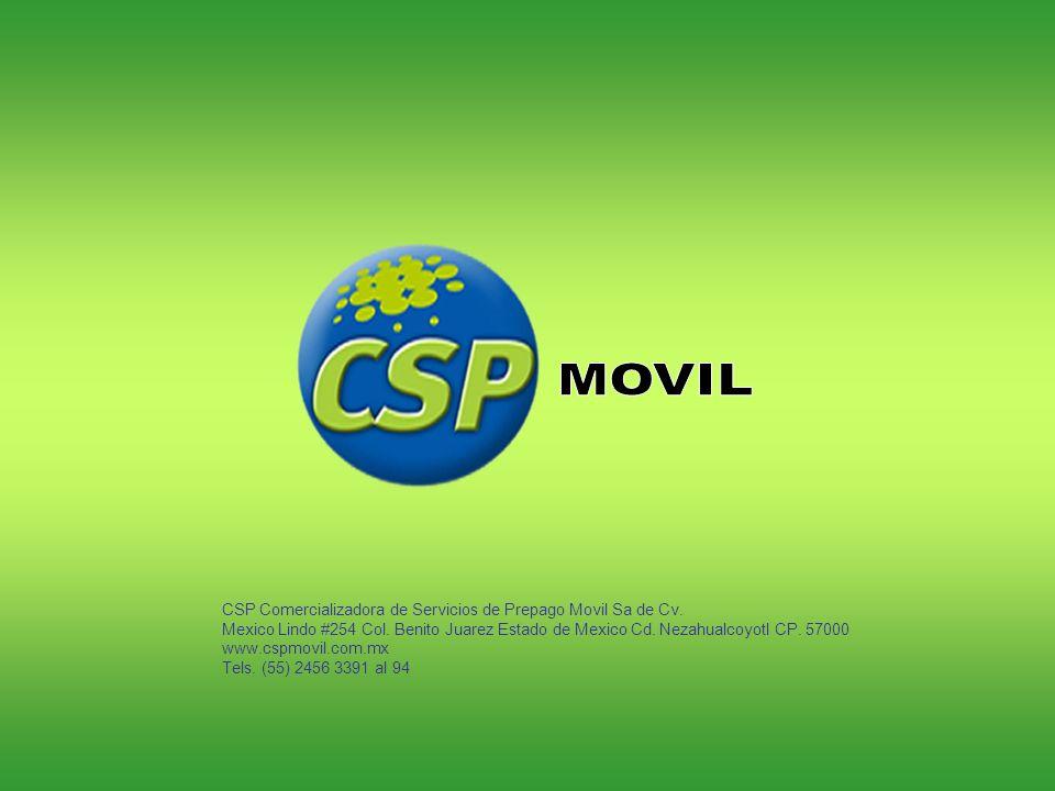 MOVIL CSP Comercializadora de Servicios de Prepago Movil Sa de Cv.
