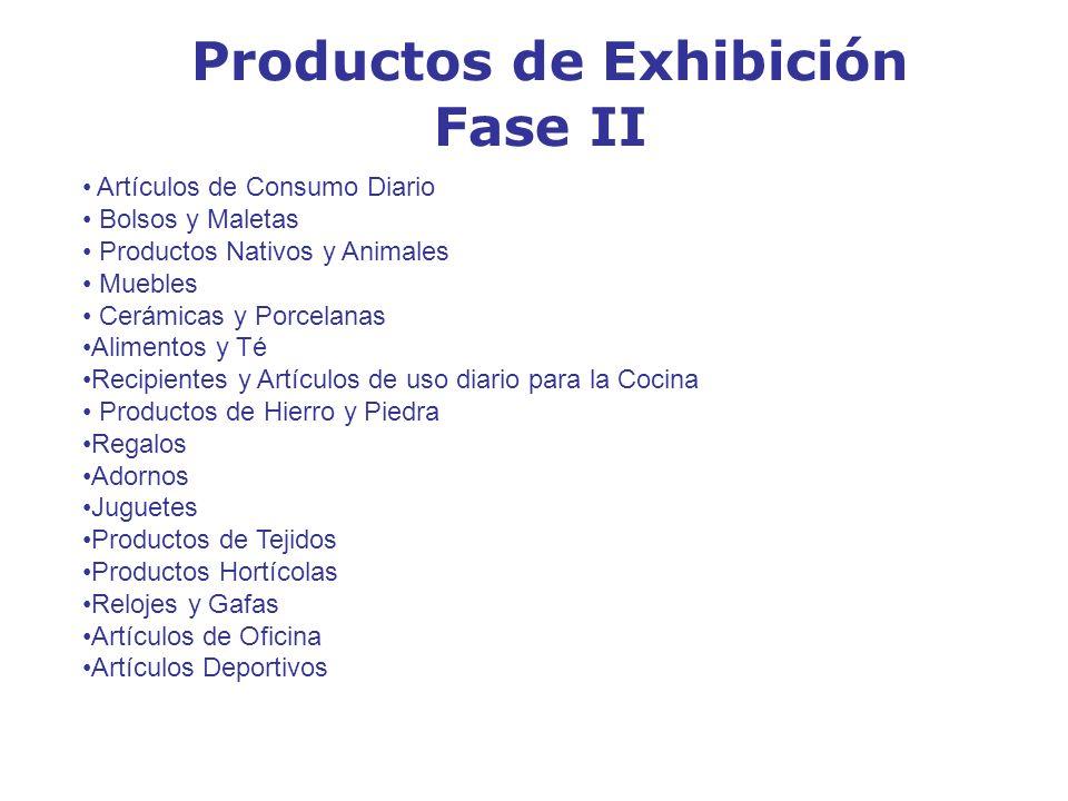 Productos de Exhibición
