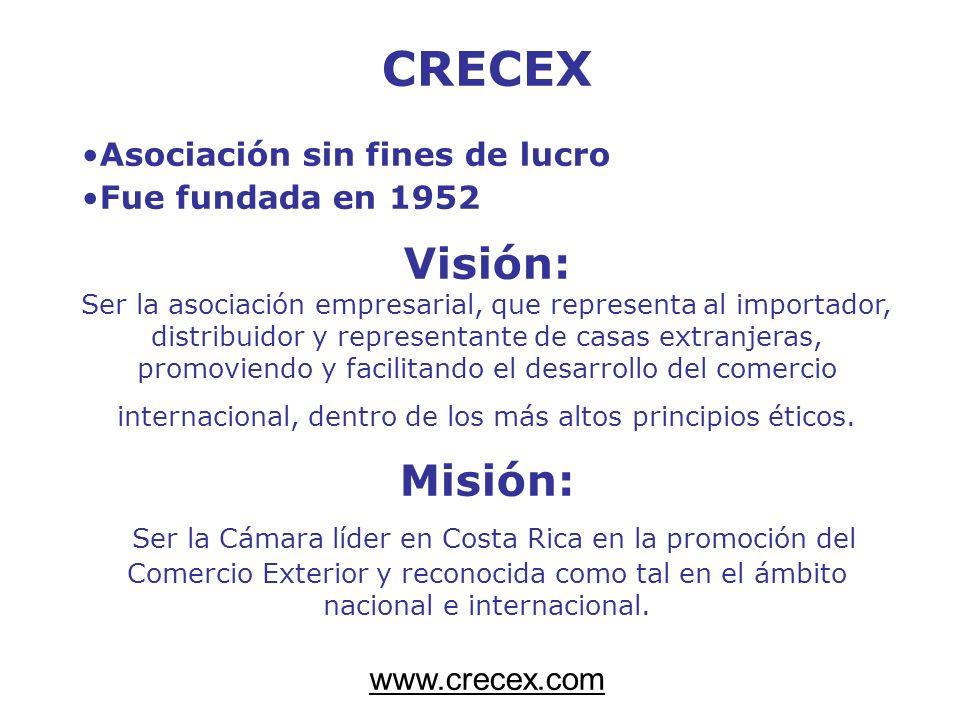 CRECEX Visión: Misión: