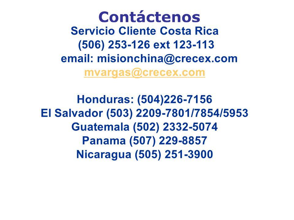 Servicio Cliente Costa Rica