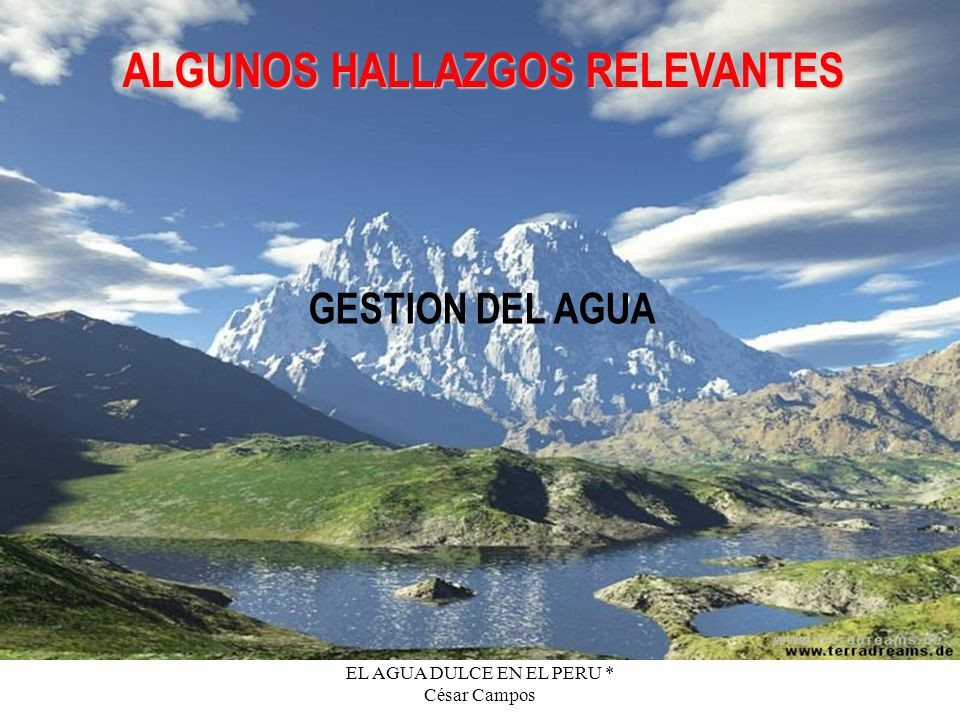 ALGUNOS HALLAZGOS RELEVANTES