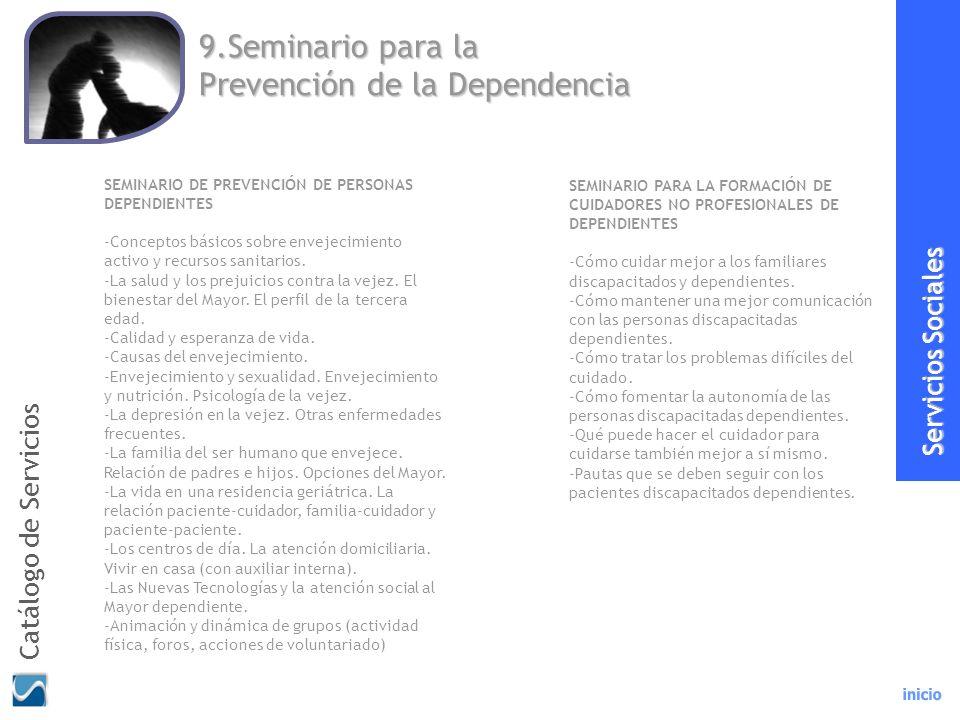 9.Seminario para la Prevención de la Dependencia