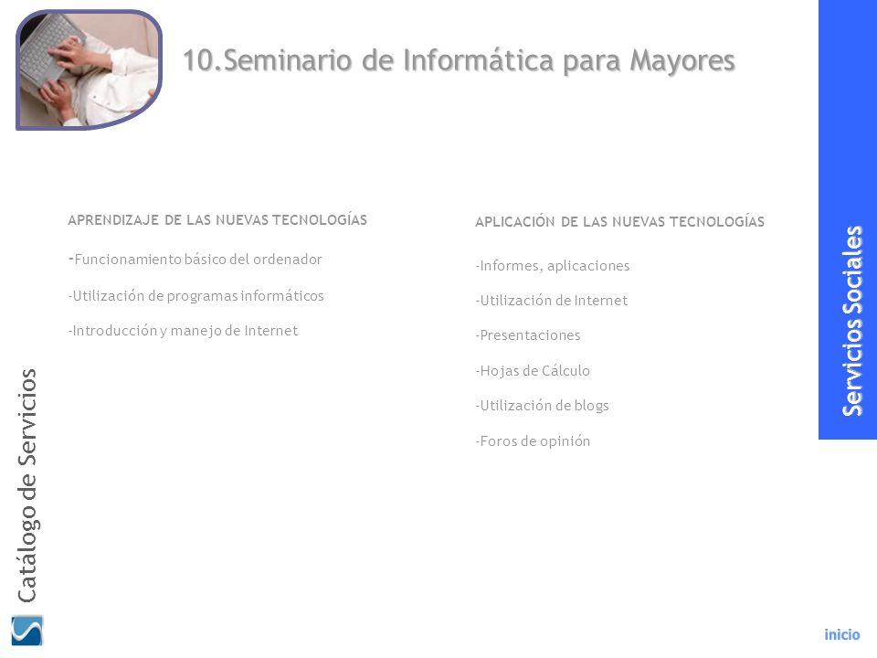 10.Seminario de Informática para Mayores