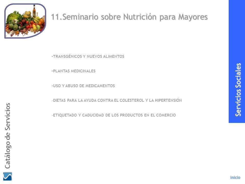 11.Seminario sobre Nutrición para Mayores