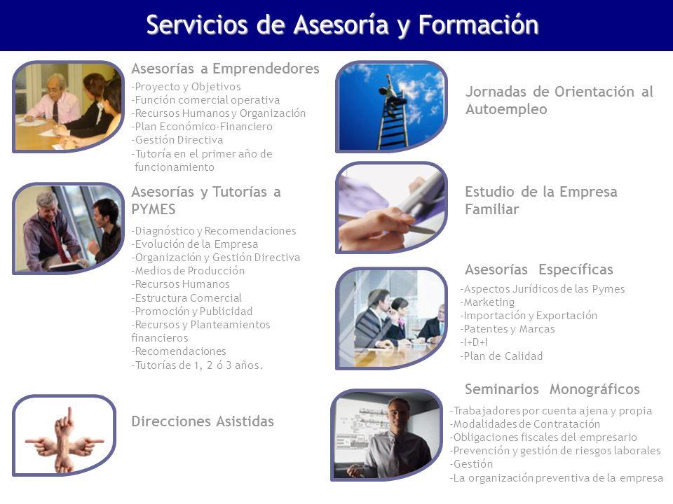 Servicios de Asesoría y Formación
