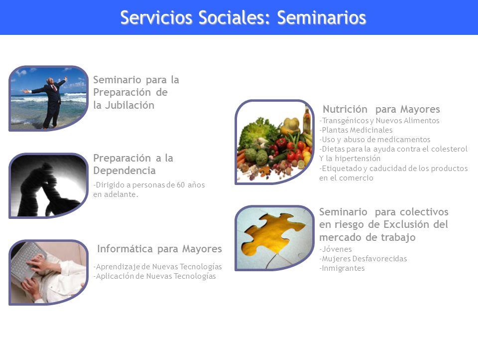 Servicios Sociales: Seminarios