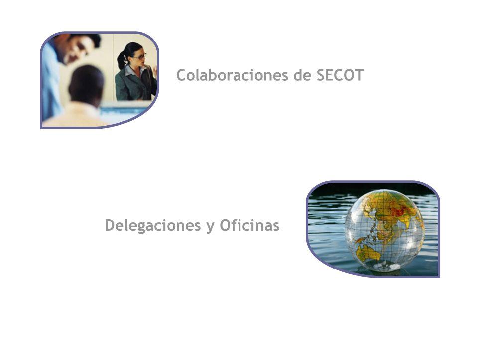 4 Colaboraciones de SECOT Delegaciones y Oficinas