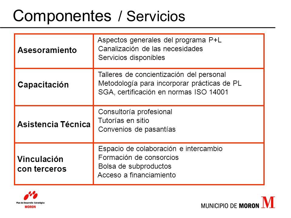 Componentes / Servicios