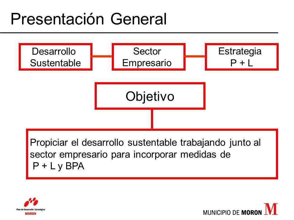 Presentación General Objetivo Desarrollo Sustentable Sector Empresario