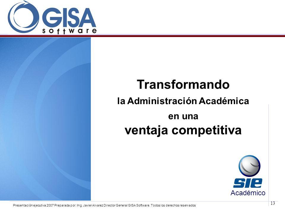 la Administración Académica