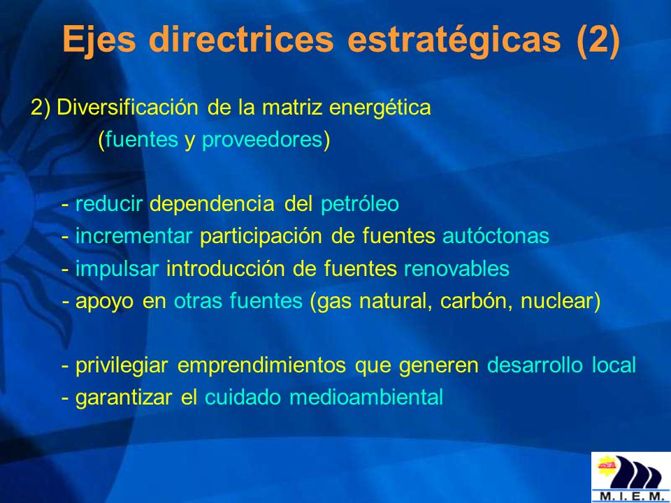 Ejes directrices estratégicas (2)