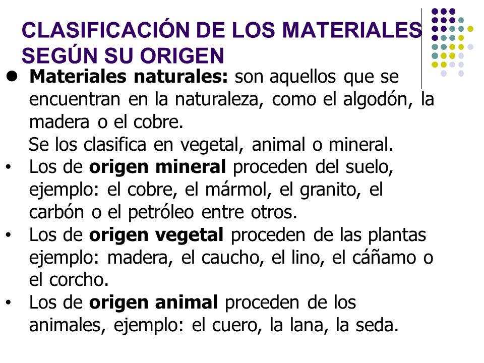Prof educaci n primaria did ctica de las ciencias for Clasificacion del marmol