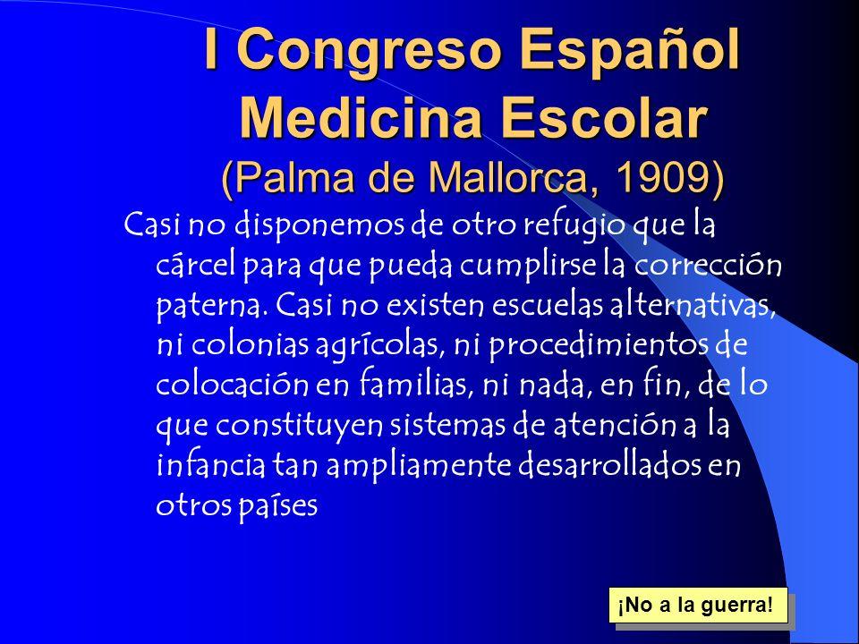 I Congreso Español Medicina Escolar (Palma de Mallorca, 1909)